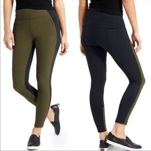 Athleta Highline Hybrid Ankle Pants/Leggings sz 10